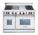 Sears dual gas range